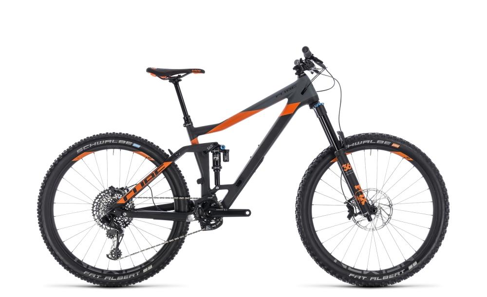 Cube Stereo 160 C:62 TM 27.5 carbon´n´orange 2018 Größe: 16´´ - Bergmann Bike & Outdoor