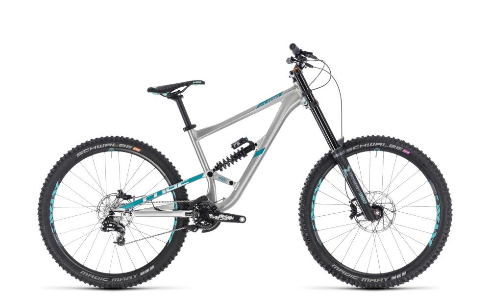 Cube Hanzz 190 SL 27.5 metal´n´mint 2018 Größe: 16´´ - Bikesport Scheid - Ihr Fahrradfachgeschäft im Saarland