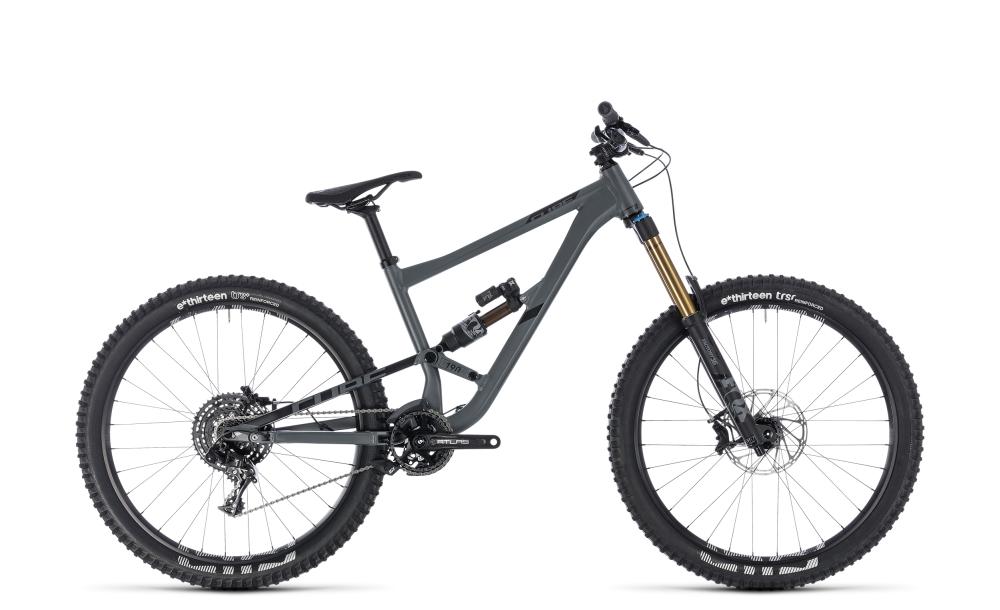 Cube Hanzz 190 TM 27.5 grey´n´black 2018 Größe: 16´´ - Bikesport Scheid - Ihr Fahrradfachgeschäft im Saarland