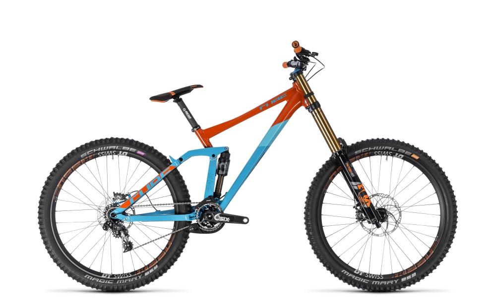 Cube TWO15 SL 27.5 blue´n´orange 2018 Größe: S - Bergmann Bike & Outdoor