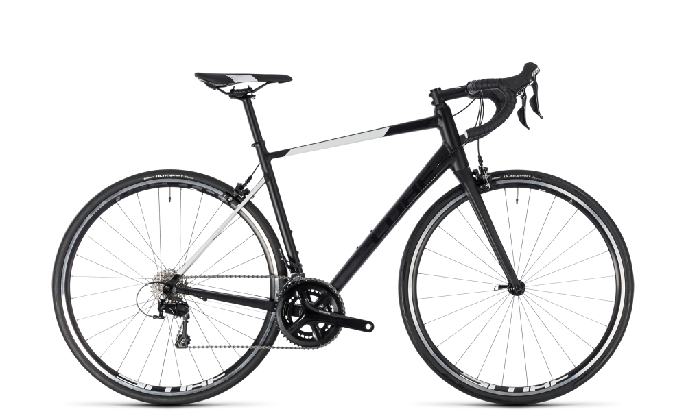 Cube Attain SL black´n´white 2018 Größe: 56 cm - Bergmann Bike & Outdoor