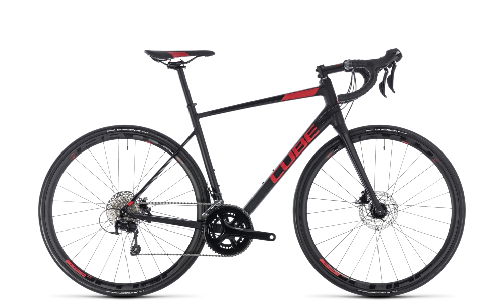 Cube Attain SL Disc black´n´red 2018 Größe: 58 cm - Cube Attain SL Disc black´n´red 2018 Größe: 58 cm