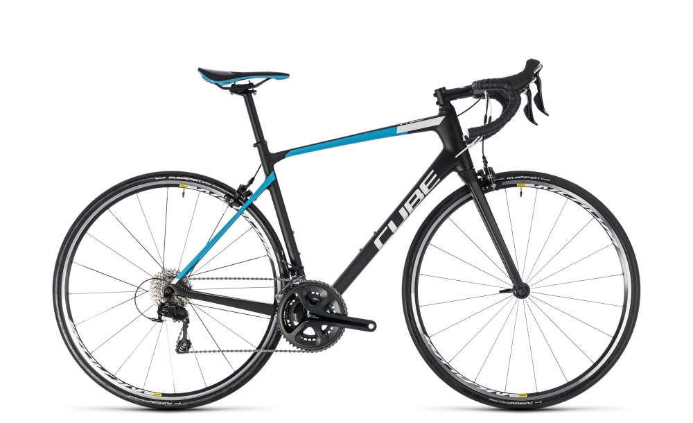 Cube Attain GTC Pro carbon´n´blue 2018 Größe: 50 cm - Bergmann Bike & Outdoor