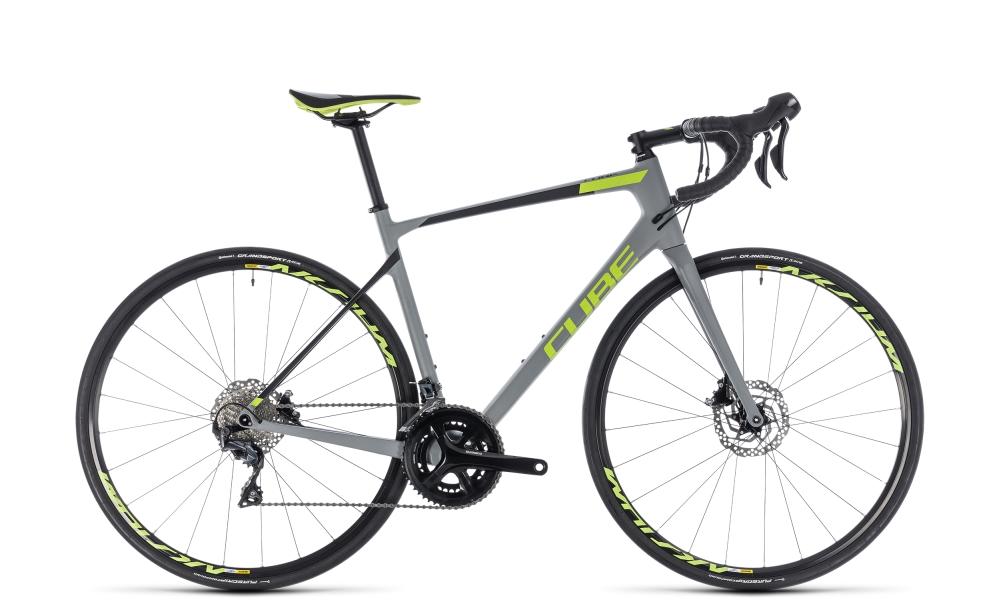Cube Attain GTC Race Disc grey´n´green 2018 Größe: 50 cm - Bikesport Scheid - Ihr Fahrradfachgeschäft im Saarland