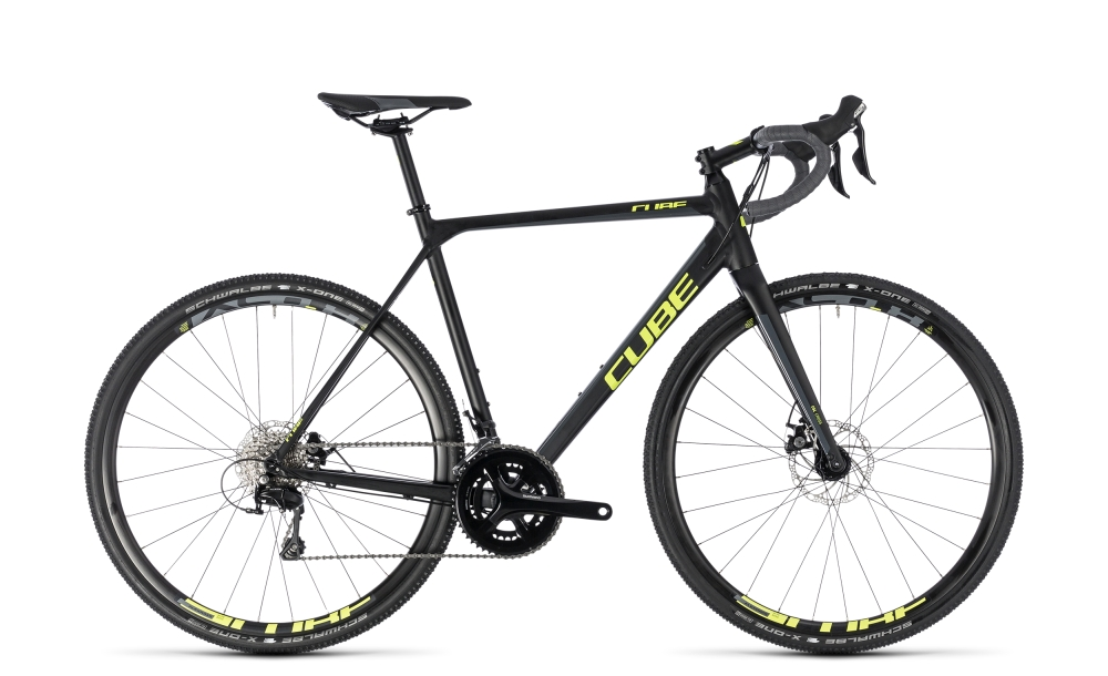 Cube Cross Race black´n´flashyellow 2018 Größe: 56 cm - Cube Cross Race black´n´flashyellow 2018 Größe: 56 cm