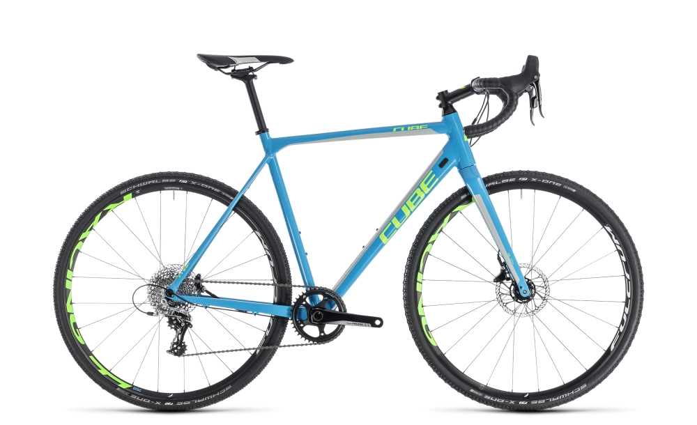 Cube Cross Race SL blue´n´green 2018 Größe: 58 cm - Cube Cross Race SL blue´n´green 2018 Größe: 58 cm