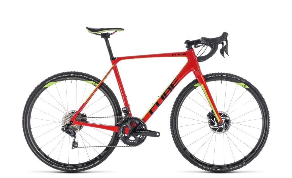 Cube Cross Race C:62 SLT red´n´green 2018 Größe: 58 cm - Bergmann Bike & Outdoor