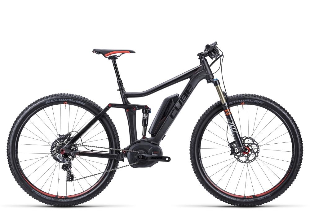 Cube Stereo Hybrid 120 HPA SL 29 black�n�flashred  Gr��e: 20�� - Cube Bikes � Fahrrad kaufen im Cube Bike Store Fahrrad Shop