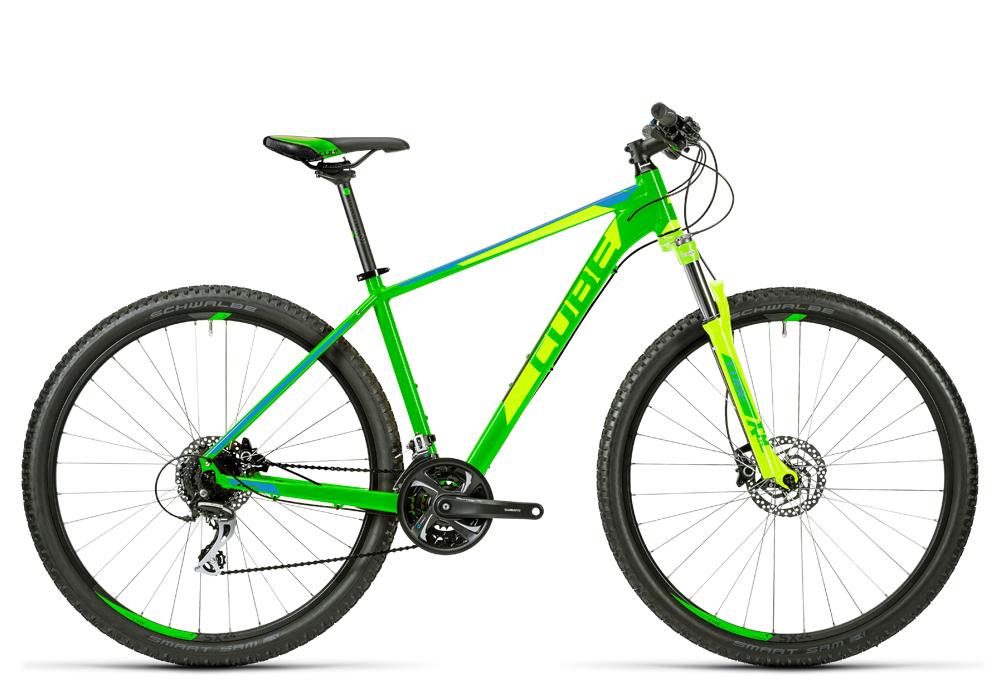 Cube Aim SL green´n´blue 2016 Größe: 14´´ - Bergmann Bike & Outdoor