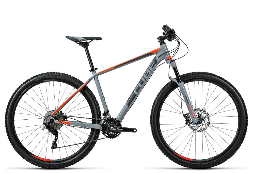 Cube Acid grey´n´flashorange 2016 Größe: 16´´ - Cube Bikes » Fahrrad kaufen im Cube Bike Store Fahrrad Shop