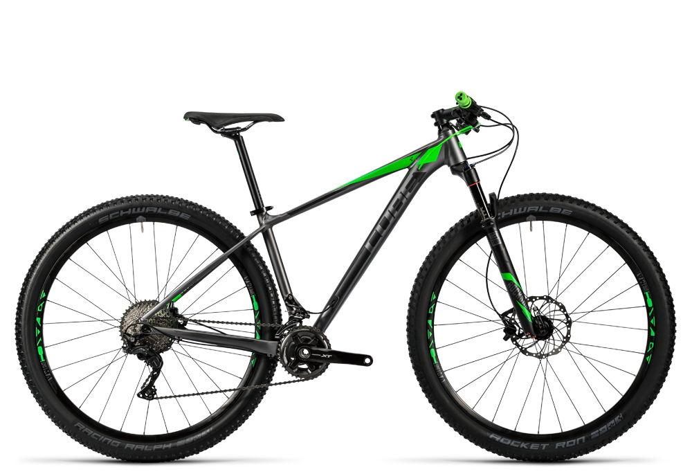 Cube Reaction HPA Pro 2x grey´n´flashgreen 2016 Größe: 18´´ - Bergmann Bike & Outdoor