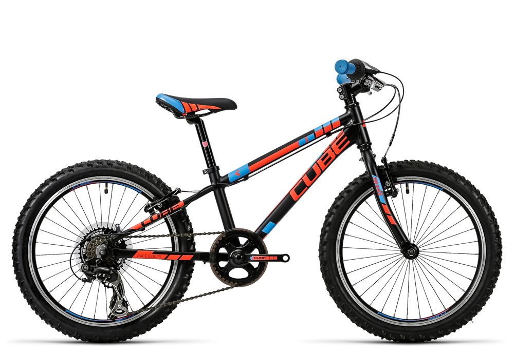 Cube Kid 200 black´n´flashred´n´blue 2016 Größe: 20´´ - Bergmann Bike & Outdoor