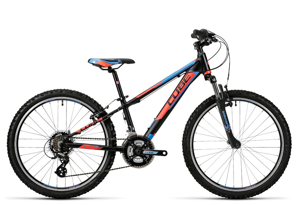 Cube Kid 240 black´n´flashred´n´blue 2016 Größe: 24´´ - Bergmann Bike & Outdoor