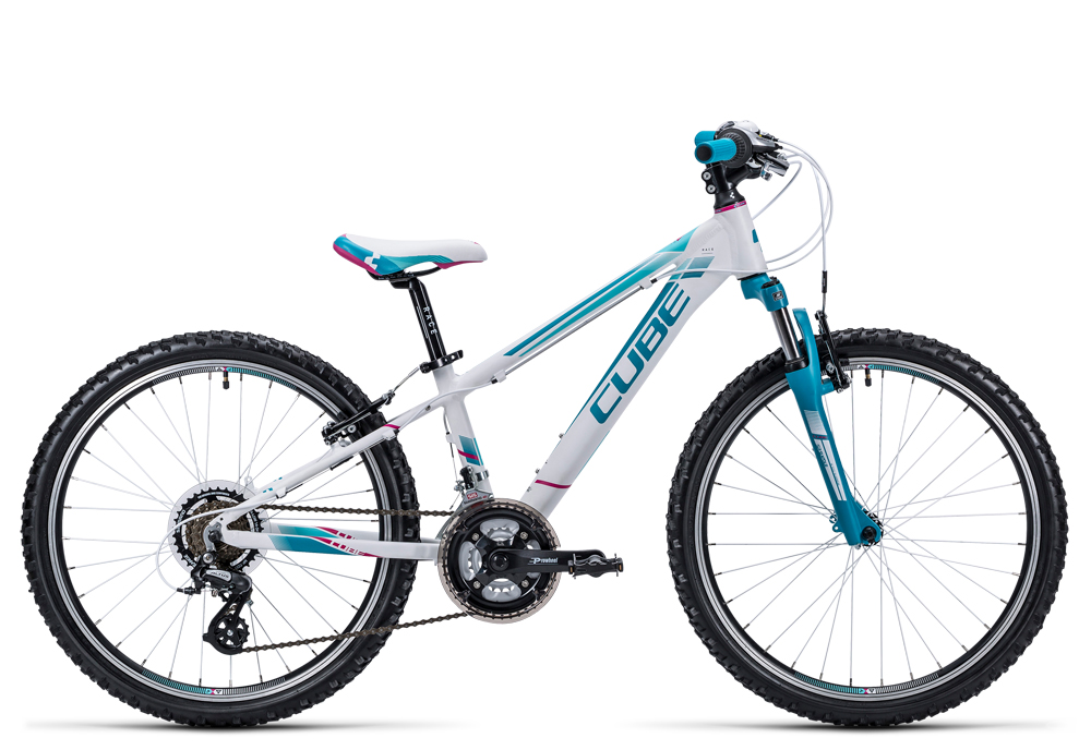 Cube Kid 240 girl white´n´blue 2016 Größe: 24´´ - Bergmann Bike & Outdoor
