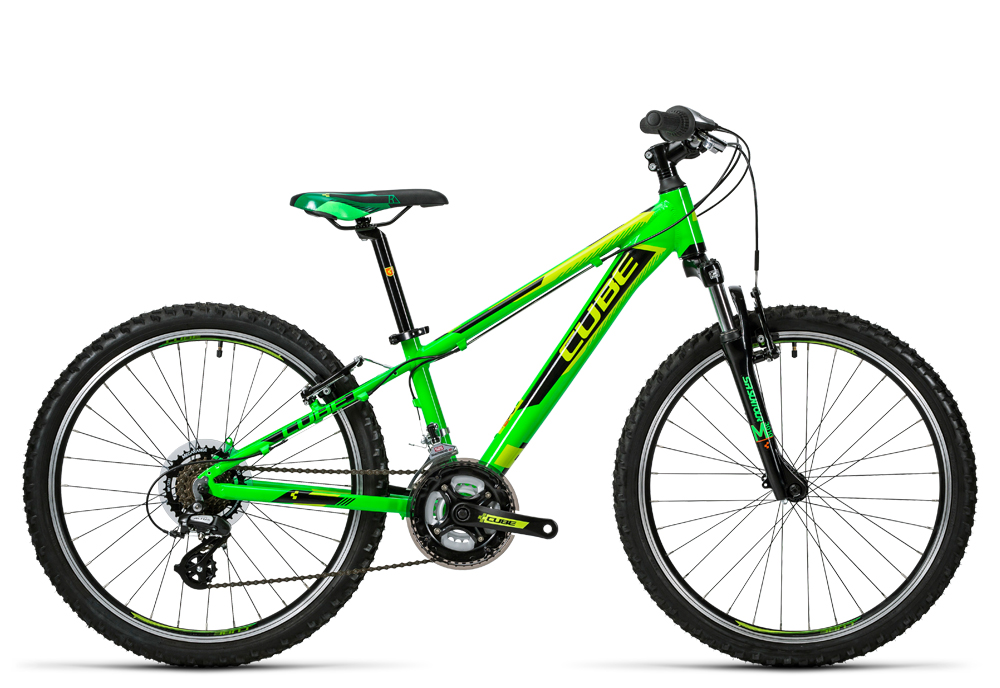 Cube Kid 240 green´n´black 2016 Größe: 24´´ - Bergmann Bike & Outdoor