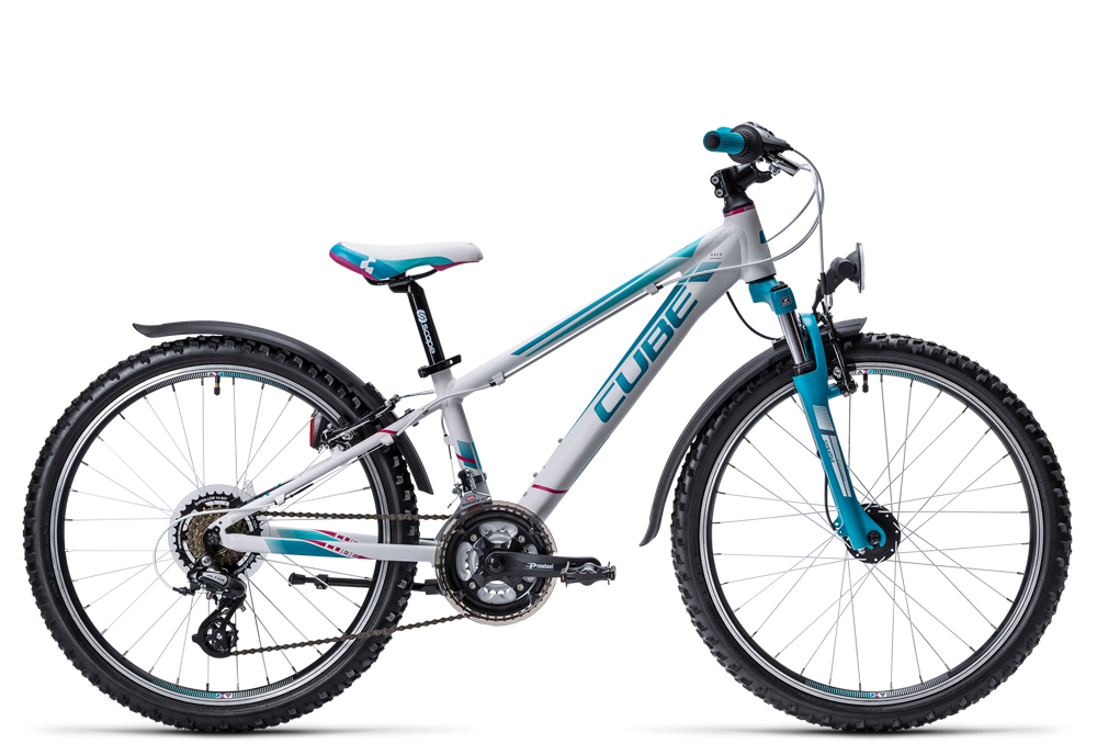 Cube Kid 240 Allroad white´n´blue 2016 Größe: 24´´ - Bergmann Bike & Outdoor