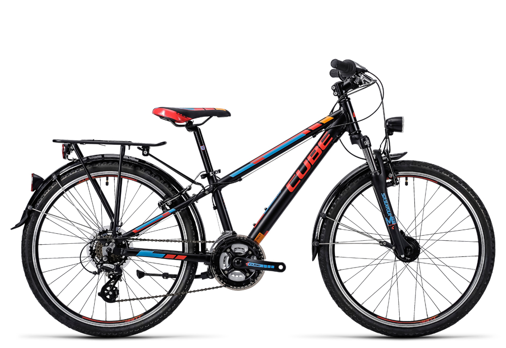 Cube Kid 240 Street black´n´red 2016 Größe: 24´´ - Bergmann Bike & Outdoor