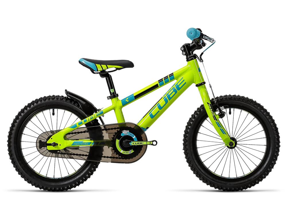 Cube Kid 160 green´n´blue 2016 Größe: 16´´ - Bergmann Bike & Outdoor