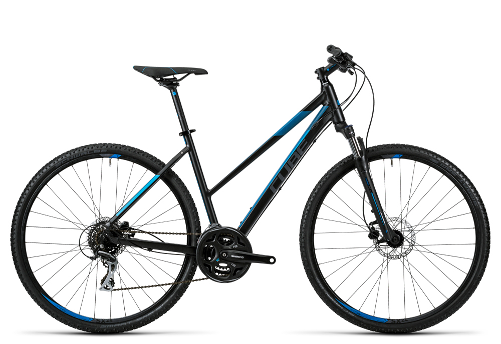 Cube Curve Pro black grey blue 2016 Größe: Trapeze 54 cm - Cube Bikes » Fahrrad kaufen im Cube Bike Store Fahrrad Shop