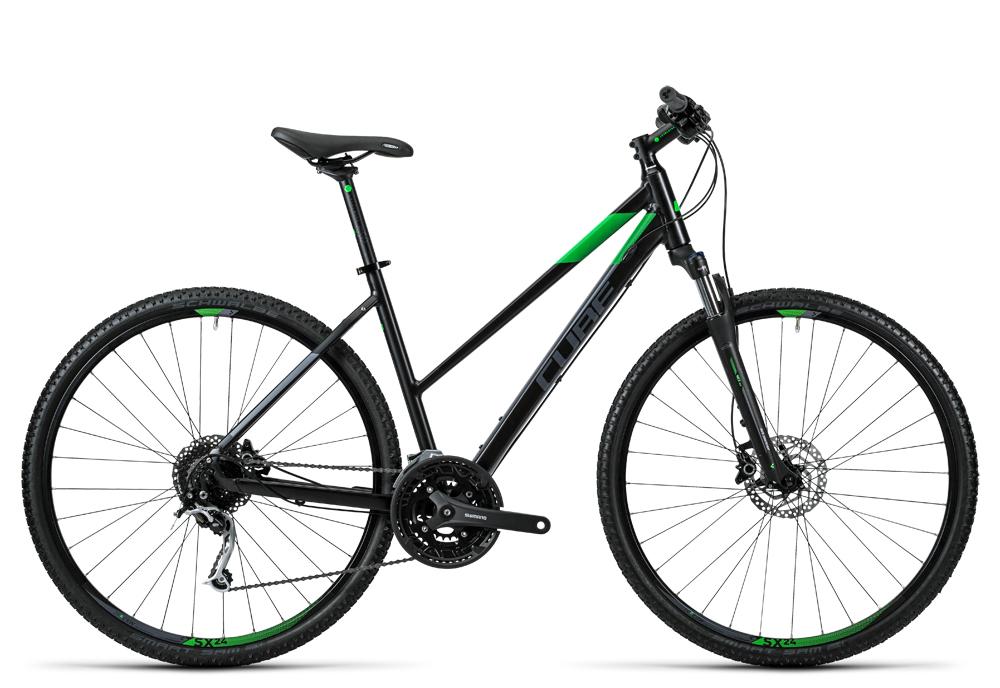 Cube Nature black flashgreen grey 2016 Größe: Trapeze 50 cm - Cube Bikes » Fahrrad kaufen im Cube Bike Store Fahrrad Shop