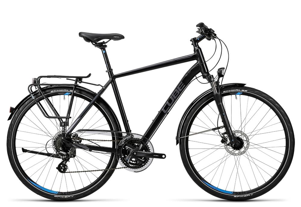 Cube Touring Pro black grey blue 2016 Größe: 50 cm - Cube Touring Pro black grey blue 2016 Größe: 50 cm