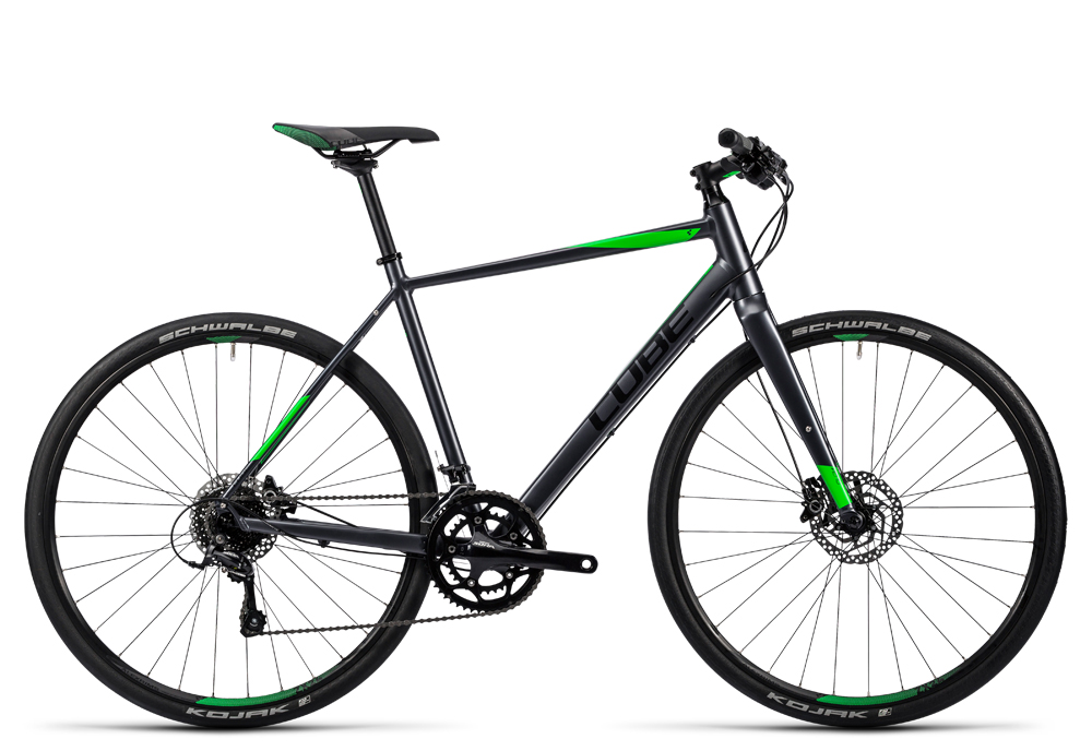 Cube SL Road Pro grey black flashgreen 2016 Größe: 62 cm - Cube SL Road Pro grey black flashgreen 2016 Größe: 62 cm