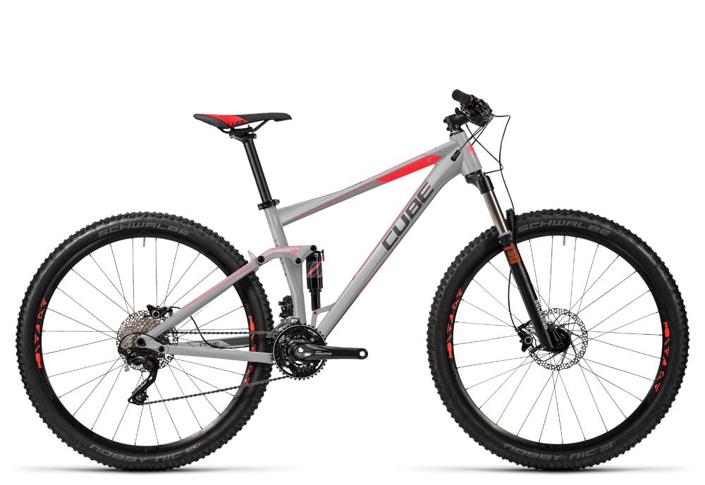 Cube Stereo 120 HPA Pro grey´n´flashred 2016 Größe: 20´´ - Cube Bikes » Fahrrad kaufen im Cube Bike Store Fahrrad Shop