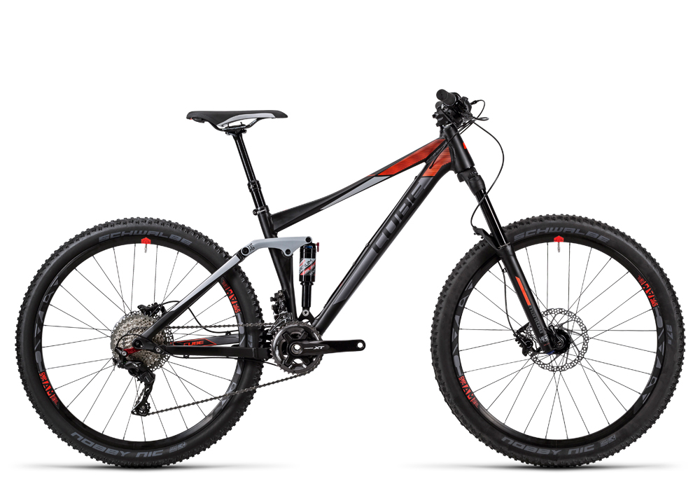 Cube Stereo 140 HPA Pro 27.5 black´n´flashred 2016 Größe: 20´´ - Bergmann Bike & Outdoor