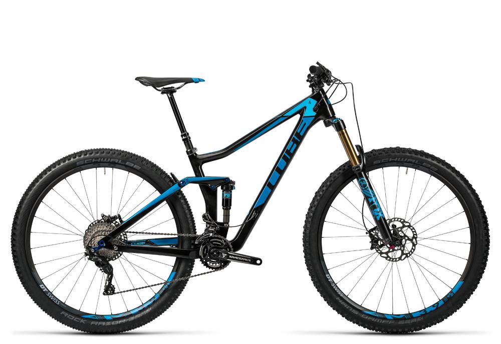 Cube Stereo 140 C:62 SL 29 carbon´n´blue 2016 Größe: 18´´ - Cube Bikes » Fahrrad kaufen im Cube Bike Store Fahrrad Shop
