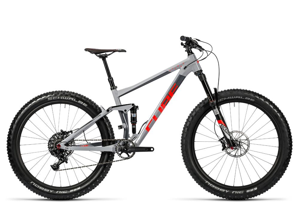 Cube Stereo 150 HPA Race 27.5+ grey´n´flashred 2016 Größe: 18´´ - Cube Bikes » Fahrrad kaufen im Cube Bike Store Fahrrad Shop