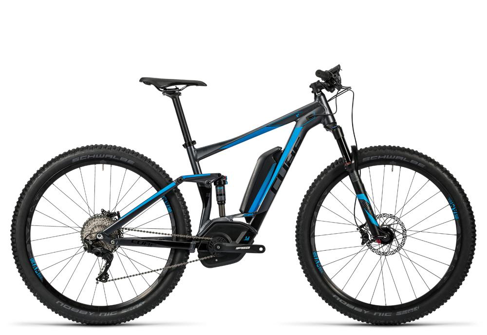 Cube Stereo Hybrid 120 HPA Race 500 iridium´n´flashblue 2016 Größe: 18´´ - Bergmann Bike & Outdoor