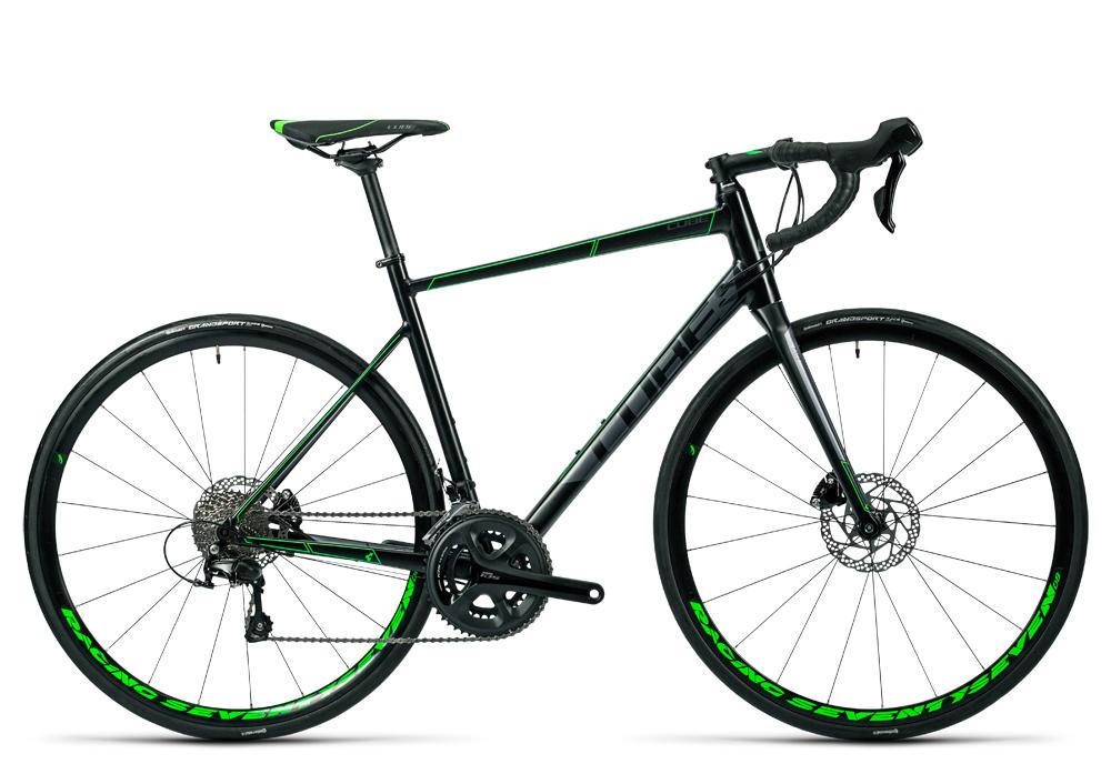 Cube Attain SL Disc black´n´green 2016 Größe: 58 cm - Cube Bikes » Fahrrad kaufen im Cube Bike Store Fahrrad Shop