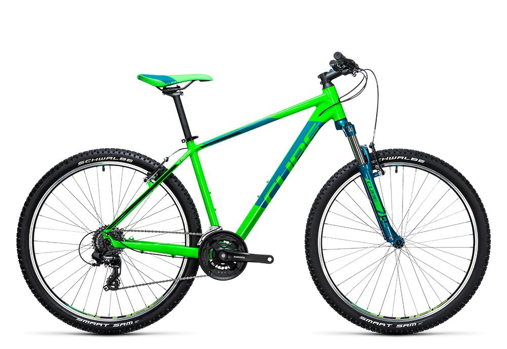 Cube Aim 27.5 green´n´blue 2017 Größe: 16´´ - Cube Bikes » Fahrrad kaufen im Cube Bike Store Fahrrad Shop