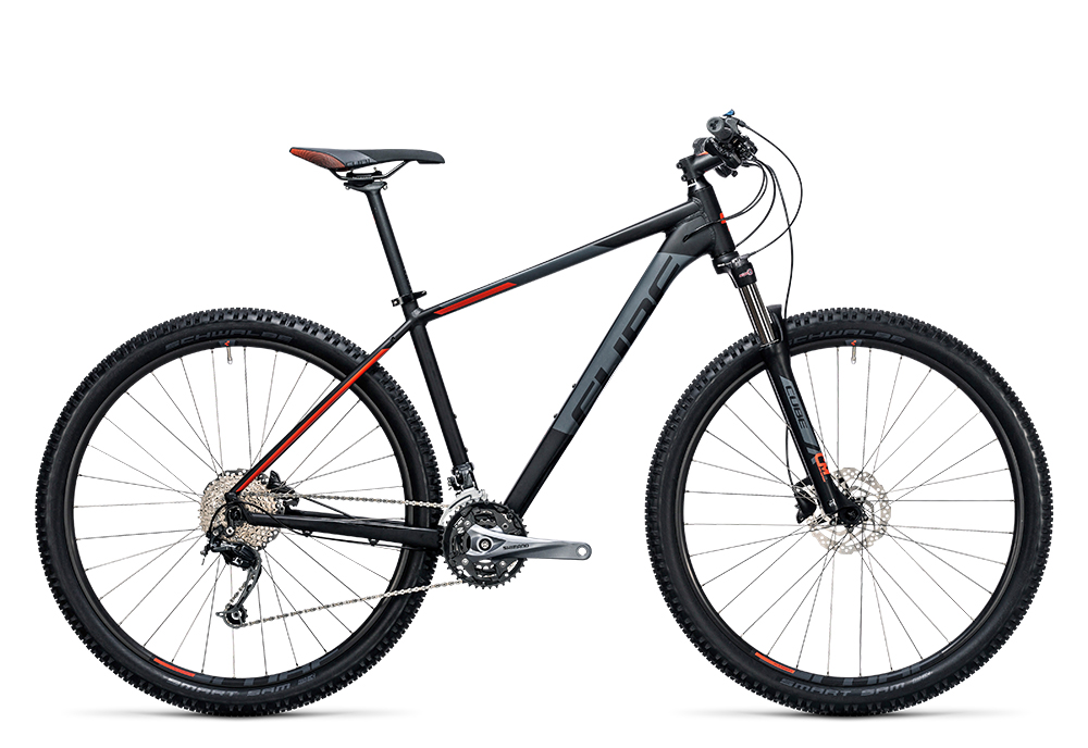 Cube Aim SL black´n´flashred 2017 Größe: 14´´ - Bergmann Bike & Outdoor