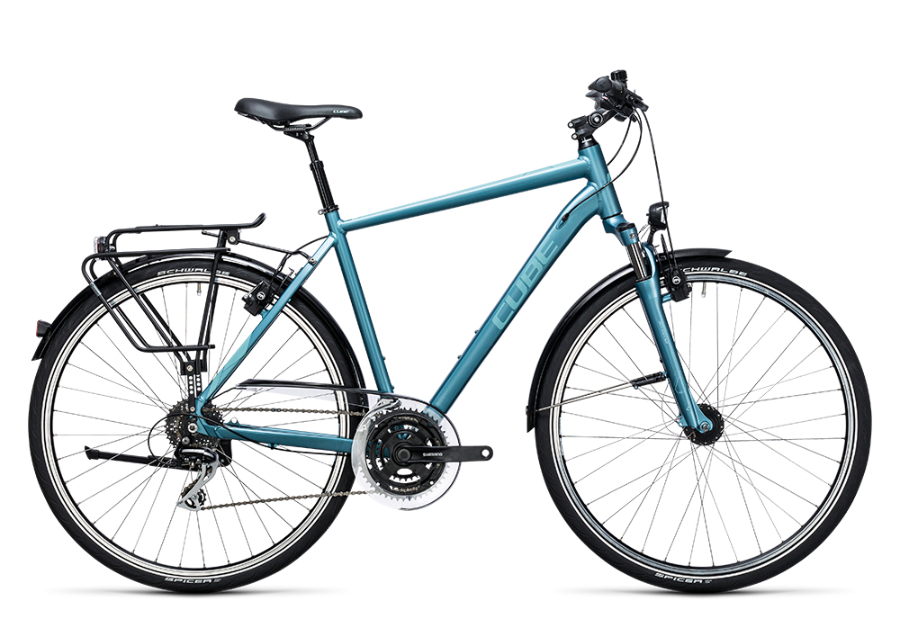 Cube Touring ONE bluegreen´n´blue 2017 Größe: 62 cm - Bergmann Bike & Outdoor