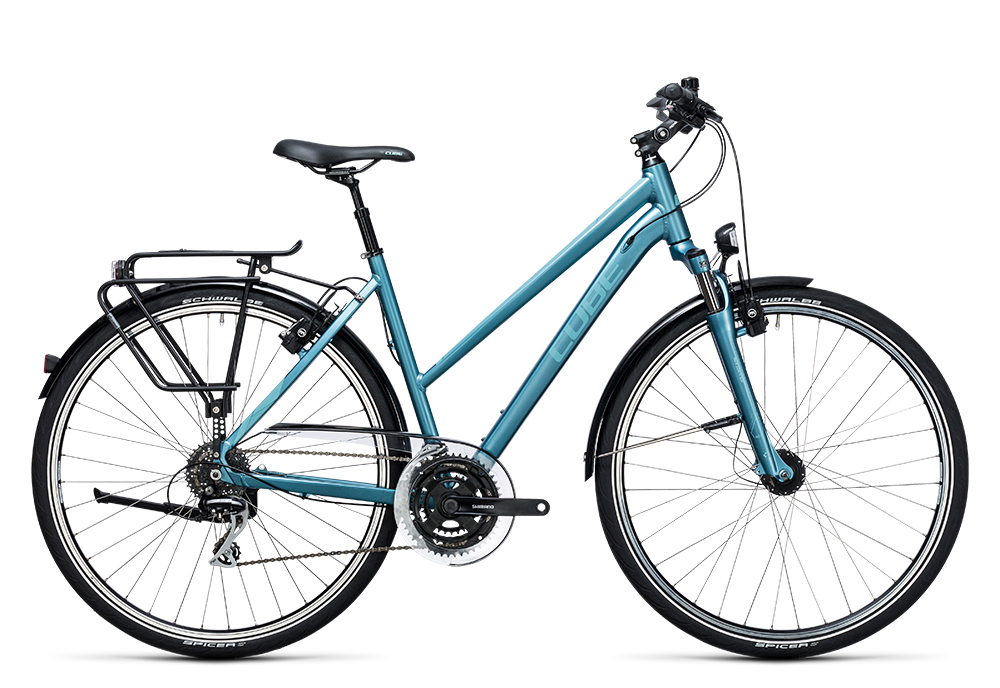 Cube Touring ONE bluegreen´n´blue 2017 Größe: Trapeze 46 cm - Bergmann Bike & Outdoor