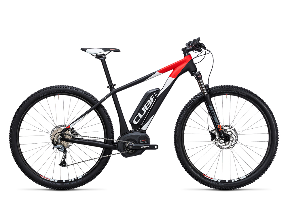 Cube Reaction Hybrid ONE 400 black´n´white 2017 Größe: 14´´ - Bergmann Bike & Outdoor