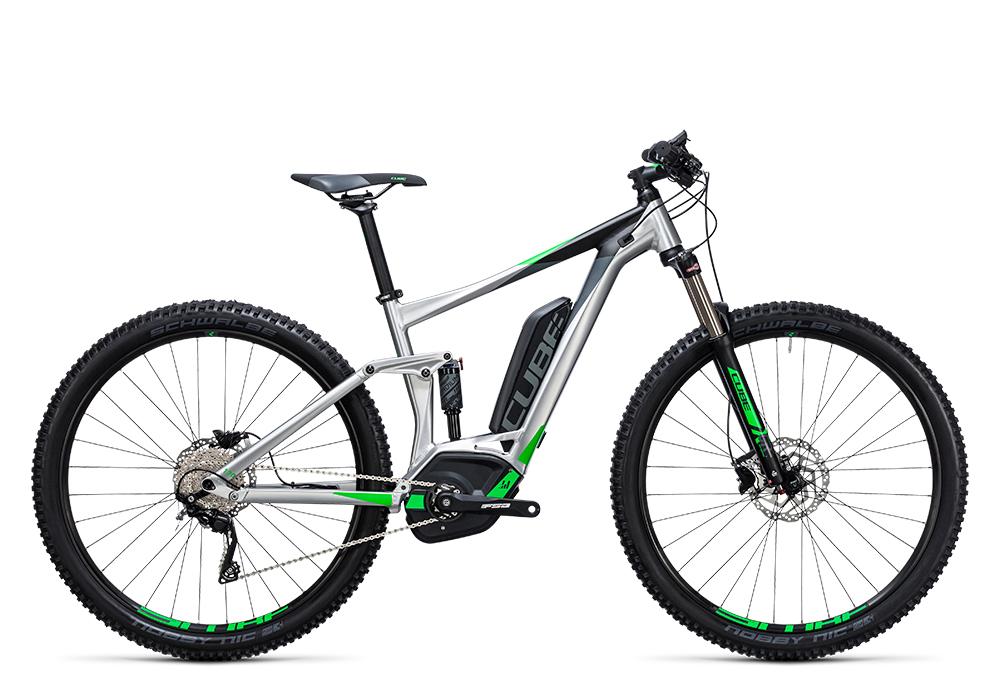 Cube Stereo Hybrid 120 ONE 400 metal´n´green 2017 Größe: 16´´ - Bergmann Bike & Outdoor
