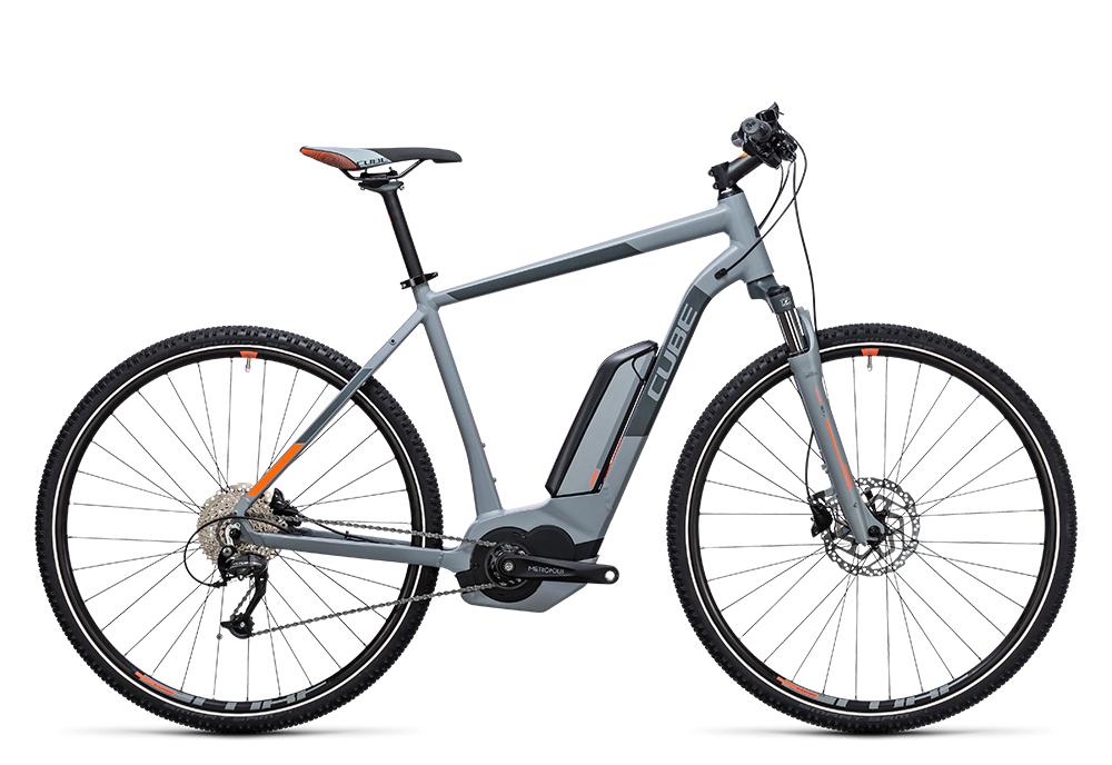 Cube Cross Hybrid ONE 400 grey´n´orange 2017 Größe: 50 cm - Bergmann Bike & Outdoor