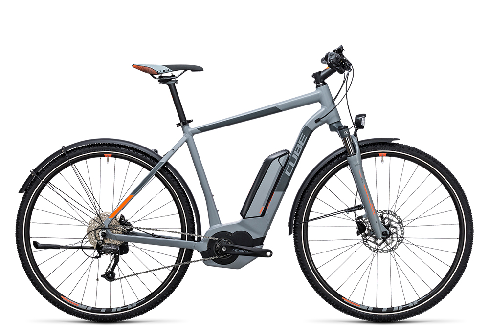 Cube Cross Hybrid ONE Allroad 500 grey´n´orange 2017 Größe: 50 cm - Bergmann Bike & Outdoor