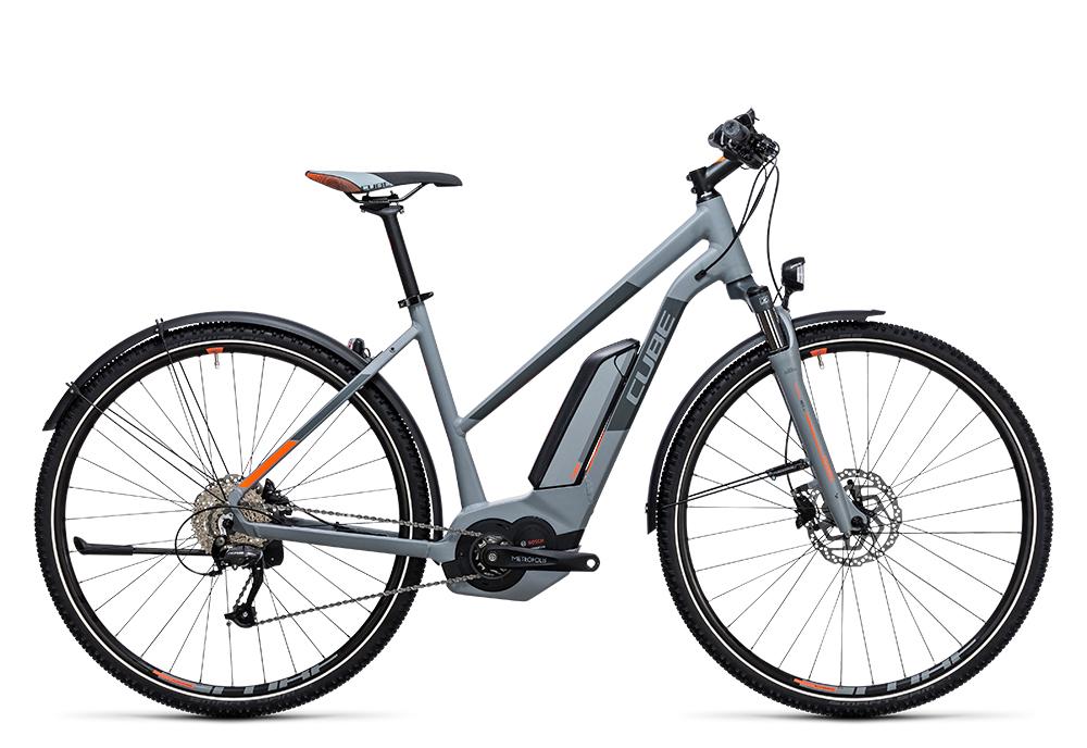 Cube Cross Hybrid ONE Allroad 500 grey´n´orange 2017 Größe: Trapeze 46 cm - Bergmann Bike & Outdoor