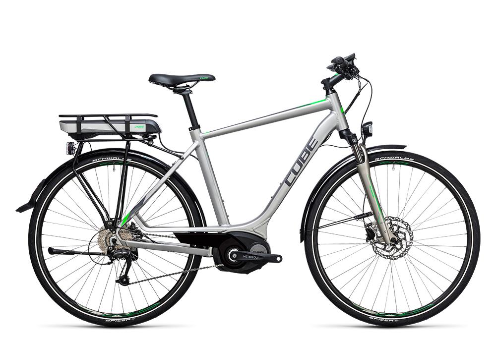 Cube Touring Hybrid ONE 500 silver´n´flashgreen 2017 Größe: 50 cm - Bergmann Bike & Outdoor