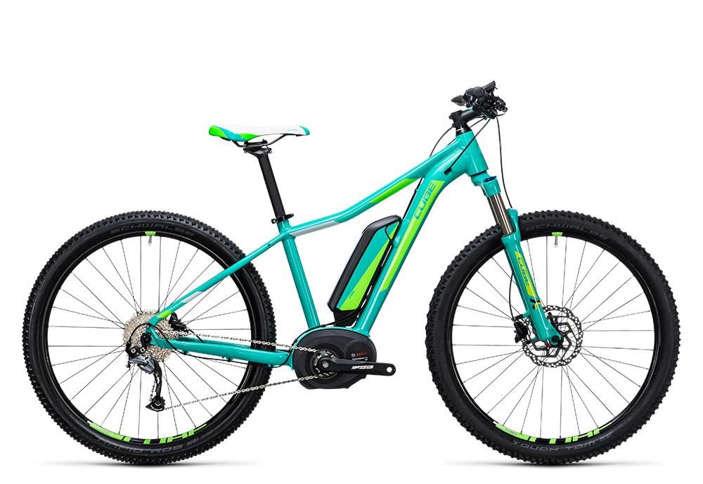 Cube Access WLS Hybrid ONE 400 mint´n´green 2017 Größe: 14´´ - Bergmann Bike & Outdoor