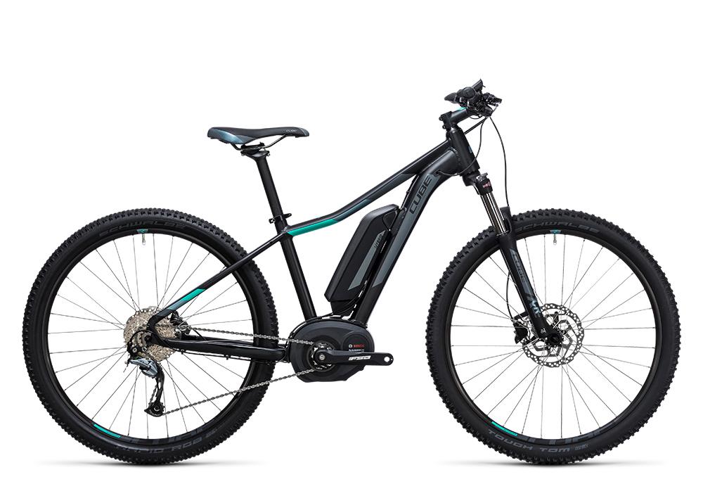 Cube Access WLS Hybrid ONE 400 black´n´blue 2017 Größe: 14´´ - Bergmann Bike & Outdoor