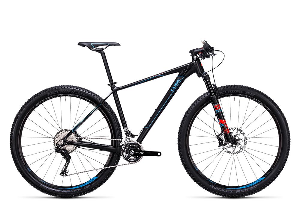 Cube Reaction HPA SL 2x black´n´blue 2017 Größe: 18´´ - Cube Bikes » Fahrrad kaufen im Cube Bike Store Fahrrad Shop