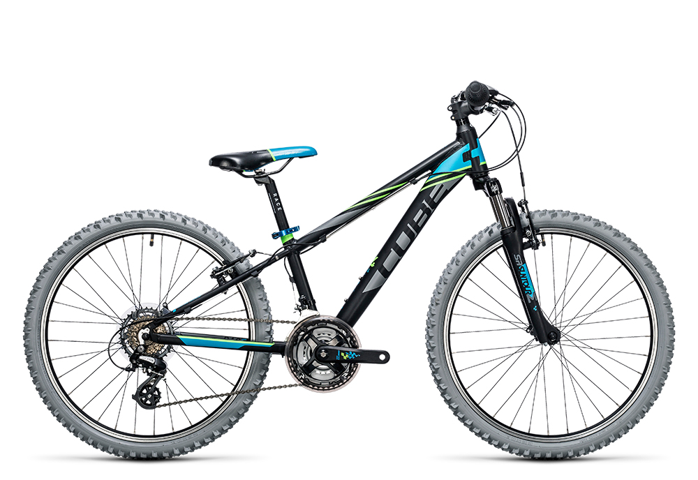 Cube Kid 240 black´n´blue 2017 Größe: 24´´ - Bergmann Bike & Outdoor