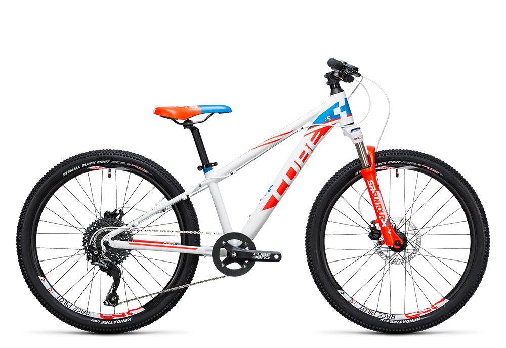Cube Kid 240 SL white´n´red 2017 Größe: 24´´ - Bergmann Bike & Outdoor