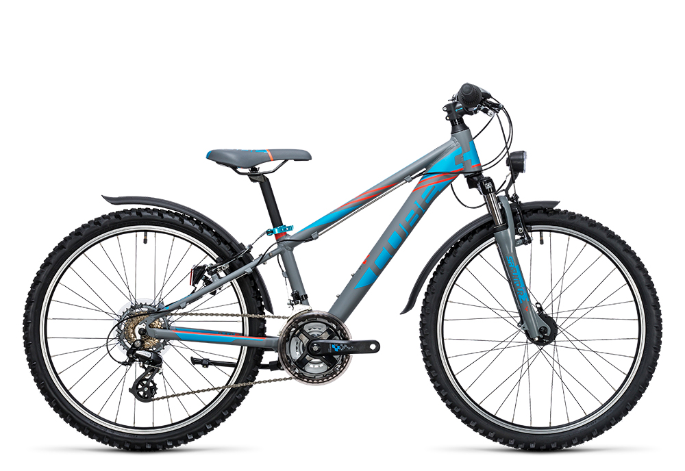 Cube Kid 240 Allroad grey´n´blue 2017 Größe: 24´´ - Bergmann Bike & Outdoor