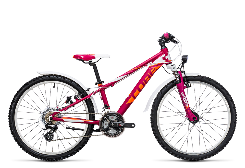 Cube Kid 240 Allroad girl berry´n´white 2017 Größe: 24´´ - Bergmann Bike & Outdoor