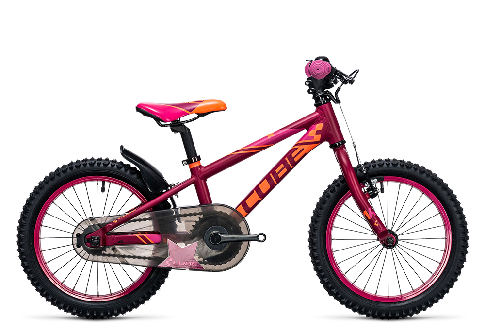 Cube Kid 160 girl berry´n´pink 2017 Größe: 16´´ - Cube Bikes » Fahrrad kaufen im Cube Bike Store Fahrrad Shop